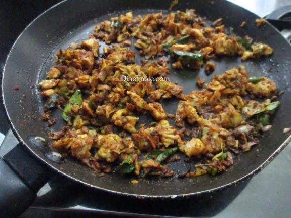 Tapioca Fish Cutlet Recipe / Spicy Cutlet
