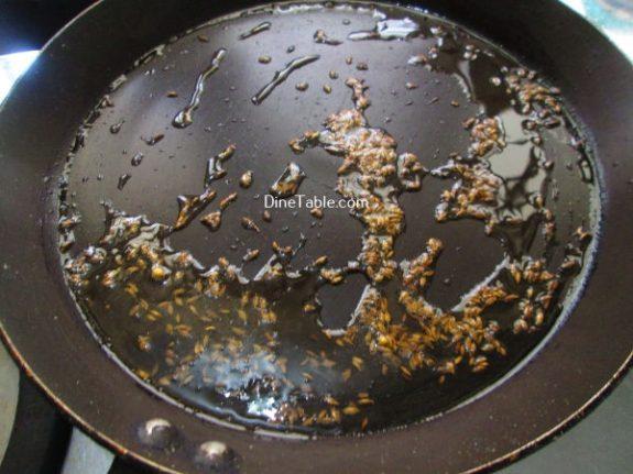 Jeera Aloo Recipe / Crunchy Dish