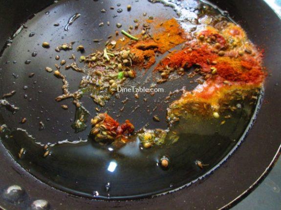 Jeera Aloo Recipe / Homemade Dish