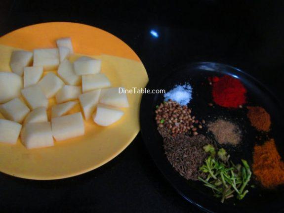Jeera Aloo Recipe / Potato Dish