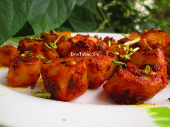 Jeera Aloo Recipe / Healthy Dish