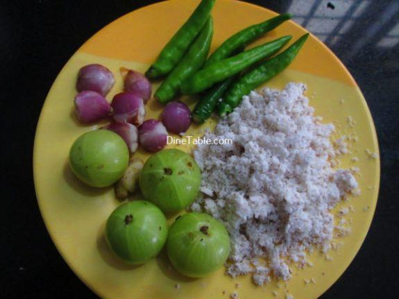 Nelllikka Chammanthi Recipe / Quick Dish