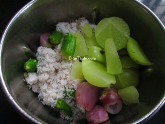 Nelllikka Chammanthi Recipe / Simple Dish