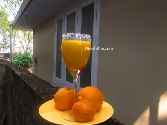 Passion Fruit Orange Juice Recipe / Simple Juice