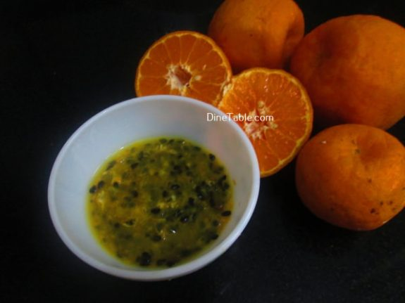 Passion Fruit Orange Juice Recipe / Yummy Juice