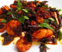 Prawns Pepper Fry Recipe / Kerala Fry