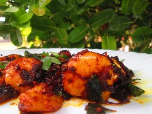 Prawns Pepper Fry Recipe