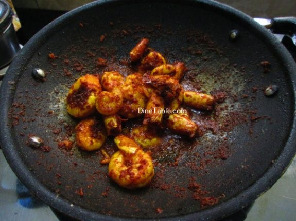 Prawns Pepper Fry Recipe / Simple Fry