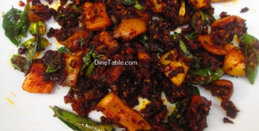 Squid Pepper Fry Recipe / Kanava Fry
