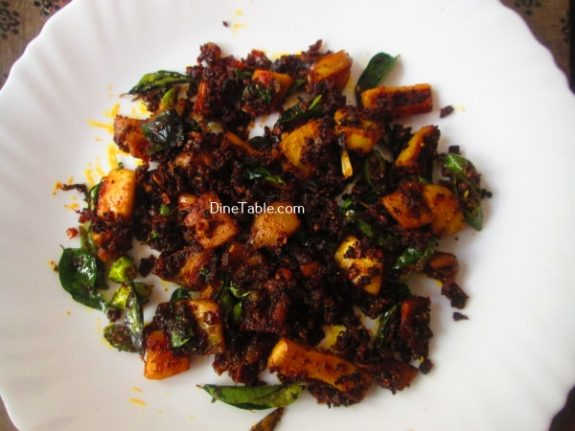 Squid Pepper Fry Recipe / Pepper Fry