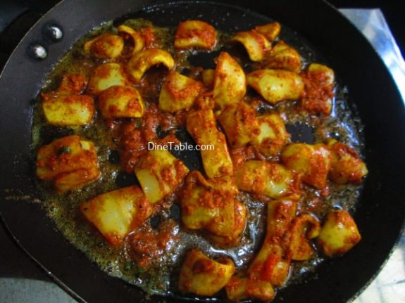 Squid Pepper Fry Recipe / Non veg Fry