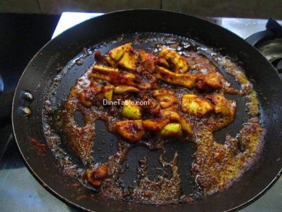 Squid Pepper Fry Recipe / Spicy Fry