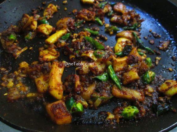 Squid Pepper Fry Recipe / Hot Fry