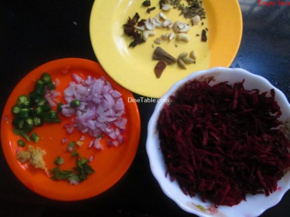 Beetroot Rice Recipe / Yummy Rice