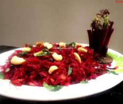 Beetroot Rice Recipe / Easy Rice