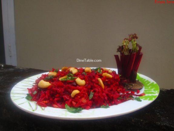 Beetroot Rice Recipe / Vegetarian Rice Recipe