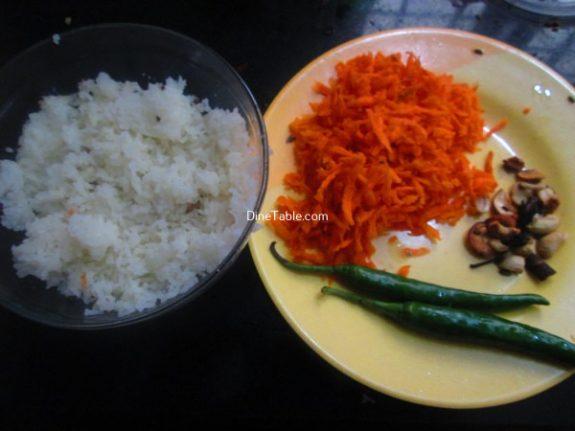 Carrot Rice Recipe / Tasty Rice