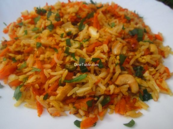 Carrot Rice Recipe / Kerala Rice