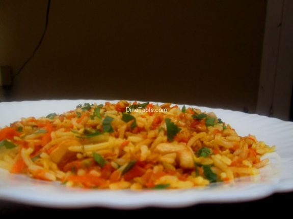 Carrot Rice Recipe / Nutritious Rice