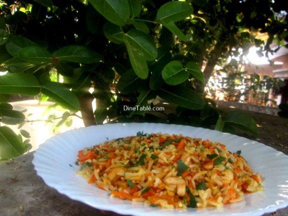 Carrot Rice Recipe / Healthy Rice