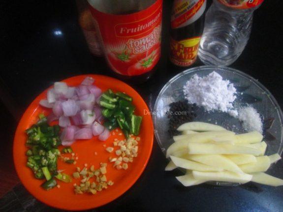 Chilly Potato Recipe / Simple Dish