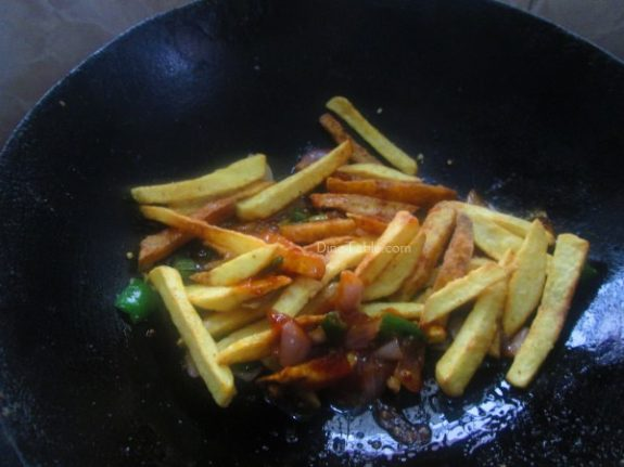 Chilly Potato Recipe / Aloo Dish
