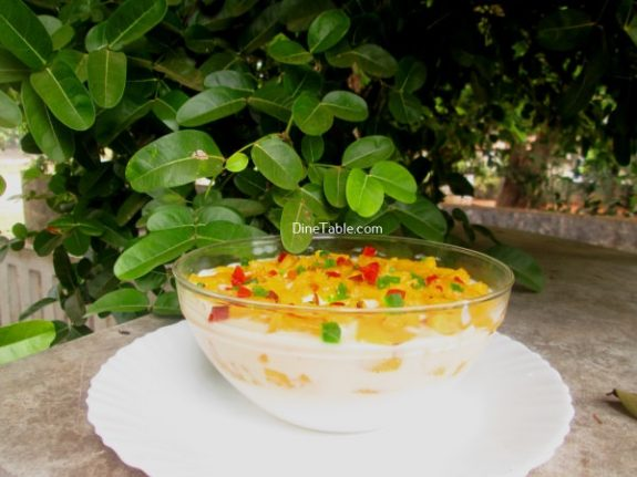 Milkmaid Pineapple Pudding Recipe / Nutritious Pudding