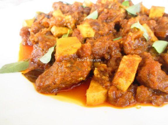 Nadan Beef Ularthiyathu Recipe / Tasty Dish