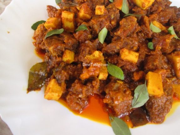 Nadan Beef Ularthiyathu Recipe / Beef Dish