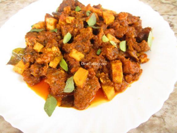 Nadan Beef Ularthiyathu Recipe / Easy Dish
