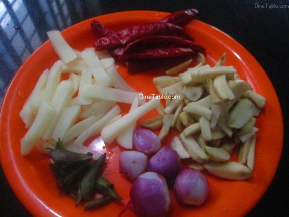 Urulakizhangu Koorka Stir Fry Recipe / Kerala Dish