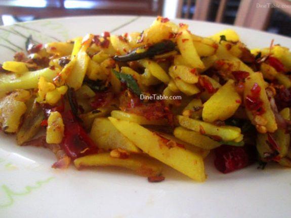 Urulakizhangu Koorka Stir Fry Recipe / Tasty Dish