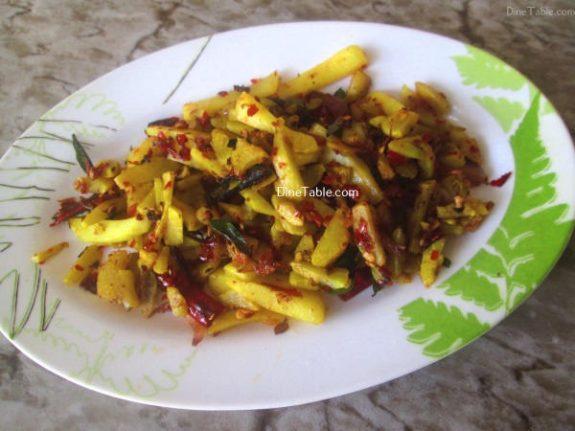 Urulakizhangu Koorka Stir Fry Recipe / Simple Dish
