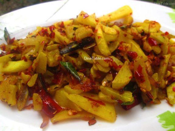 Urulakizhangu Koorka Stir Fry Recipe / Homemade Dish
