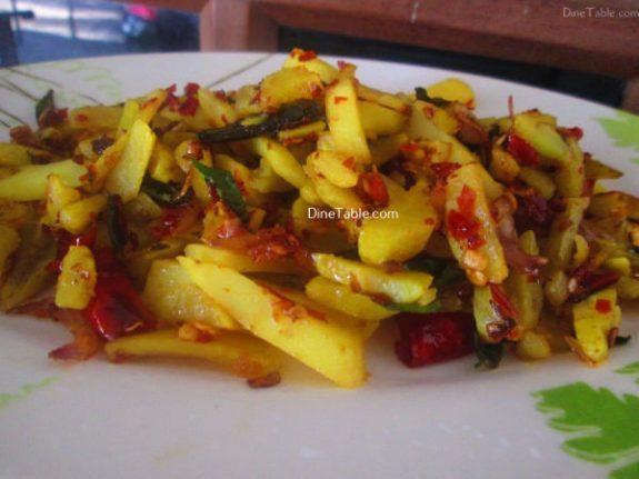 Urulakizhangu Koorka Stir Fry Recipe / Easy Dish