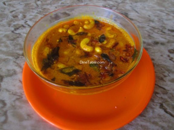 Cashew Nut Curry Recipe / Tasty Curry