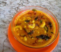 Cashew Nut Curry Recipe / Healthy Curry