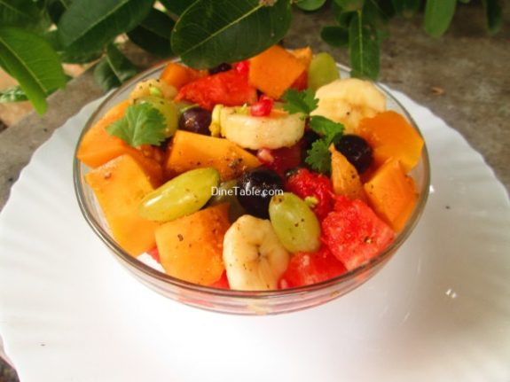 Fruit Chat Recipe / Tasty Chat