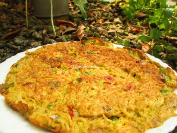 Maggi Noodle Omelette Recipe / Homemade Omelette