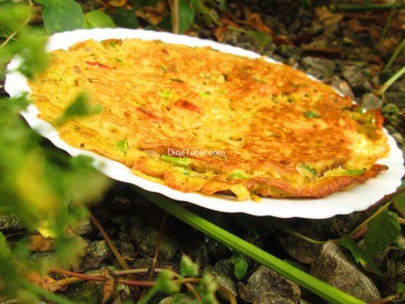 Maggi Noodle Omelette Recipe / Dinner Omelette