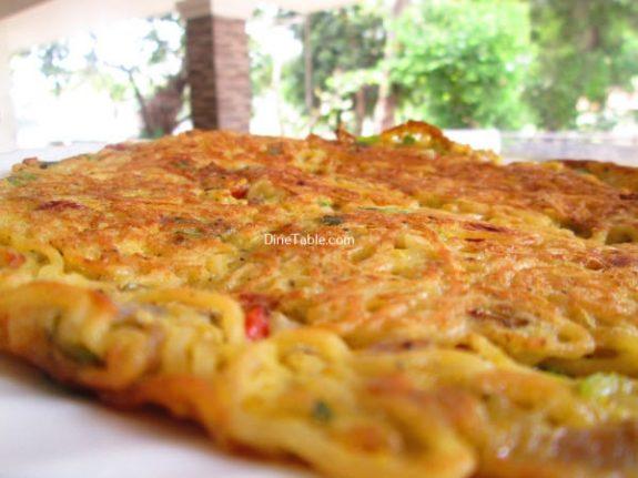 Maggi Noodle Omelette Recipe / Quick Omelette