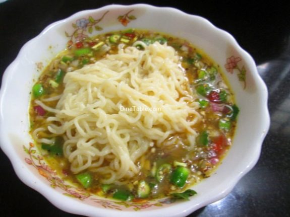 Maggi Noodle Omelette Recipe / Nutritious Omelette