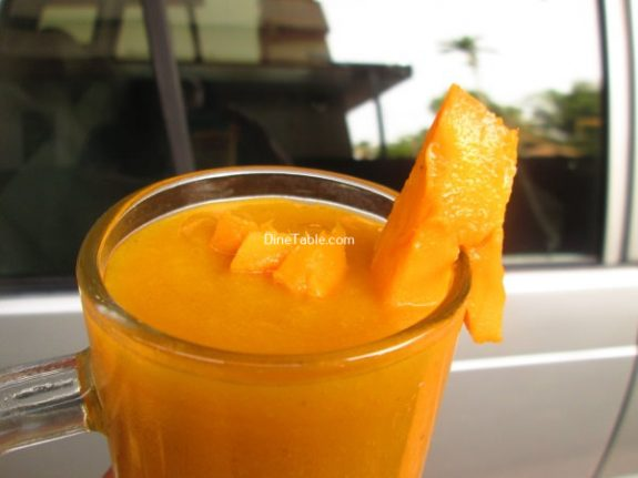 Mango Banana Smoothie Recipe / Homemade Drink