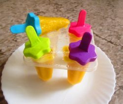 Mango Popsicles Recipe / Easy Popsicles