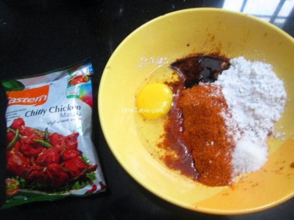 Spicy Chilly Chicken Recipe / Quick Dish