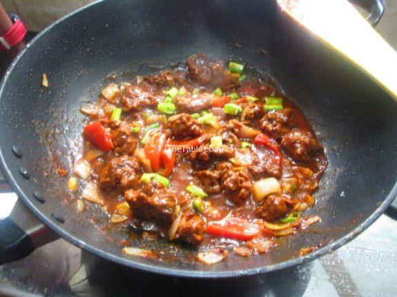 Spicy Chilly Chicken Recipe / Nutritious Dish