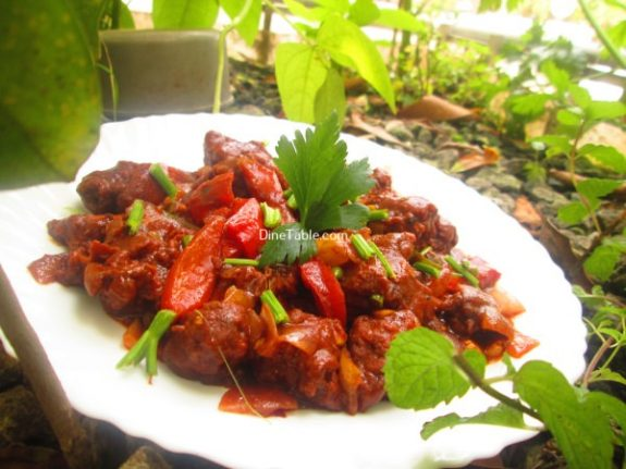 Spicy Chilly Chicken Recipe / Healthy Dish