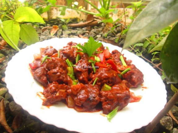Spicy Chilly Chicken Recipe / Homemade Dish