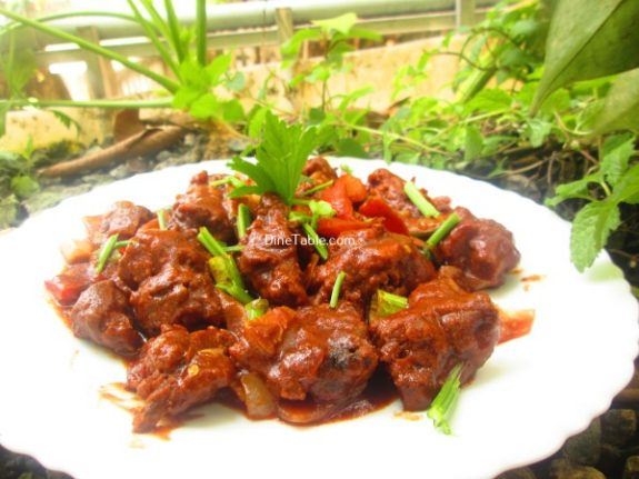 Spicy Chilly Chicken Recipe / Tasty Dish