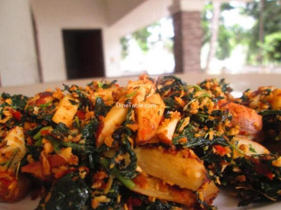 Chakkakuru Cheera Thoran Recipe / Healthy Dish